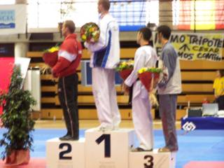Valencia 2006 - Medalists of the 84 kg weight class