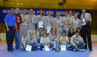 Dariusz Nowicki at the 2005 National Taekwondo WTF Championship of Poland