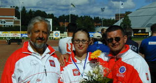 Success at the Archery Championship of Europe