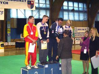 Dariusz Nowicki with Radoslaw Galazka—one of his golden medallists