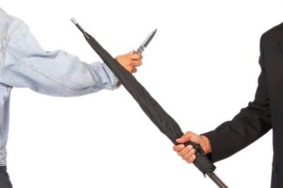 Self-Defense: Unbreakable® Umbrella vs. Knife