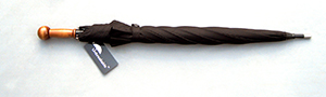 Unbreakable Walking-Stick Umbrella - Premium Model, Straight-with-Knob Handle