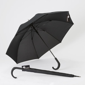 The Unbreakable® Walking-Stick Umbrella - Standard Model with Crook Handle