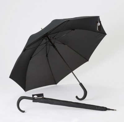Unbreakable Walking-Stick Umbrella with Crook Handle